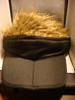 Hat With Wig Hair Baseball Cap Golf Cap Visor Removable Hair Men's Women's Hat
