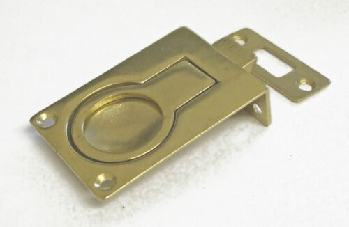 spring loaded with catch brass or chrome 58mm x 40mm    17000x Lifting ring