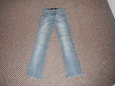 "Amisu Bootcut Jeans Size EUR 34 L31"" Faded Dark Blue Ladies Jeans"