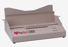 Pro Bind 2000 Thermal Binding Machine 300 Thermobind Thermal Binding Covers