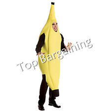 Banana Cosplay Adult Fancy Dress Costume Outfit Funny Comedy Hen Stag Party UK