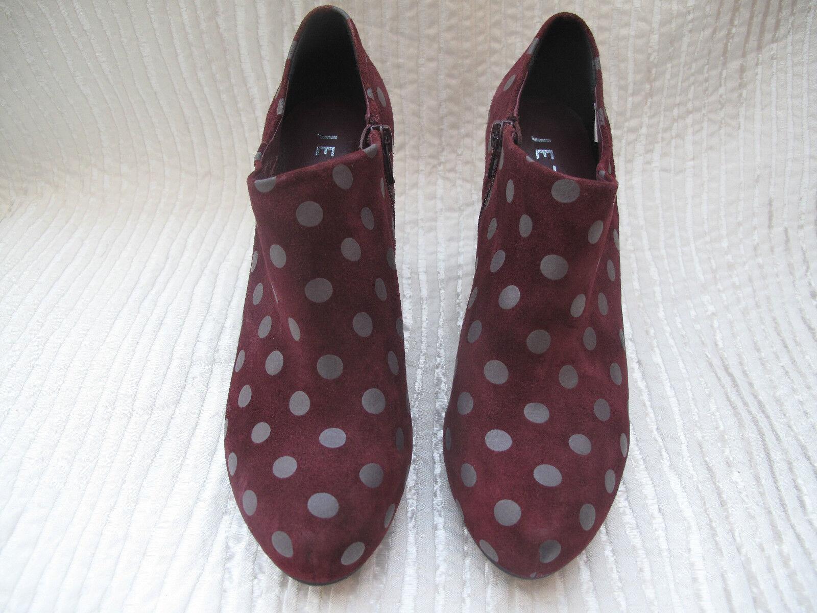 Jette Joop Damen Stiefel Stiefel Damen Ankle Stiefel Echt Leder lila Gr 38 Neu 5c2fb9