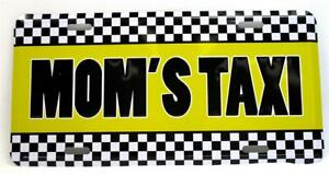 Lot of 12 Mom's Taxi Car Truck Auto Vanity Tag Novelty Metal License Plate Cab