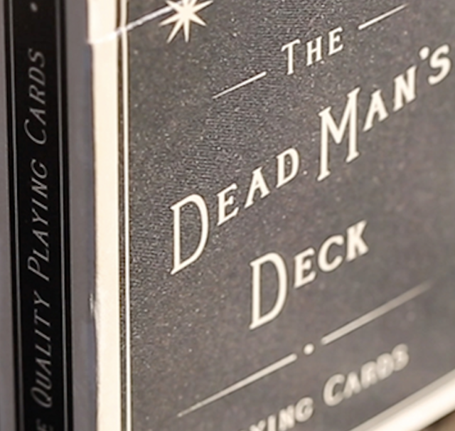 Limited Edition The Dead Man/'s Deck Playing Cards