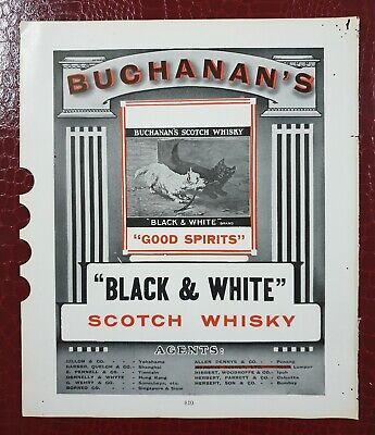 New  BUCHANAN/'S A Lo Grande Big Satin Advertising Banner Scotch Whisky Sign