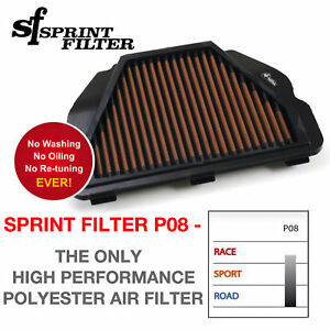 SPRINT P08 Air Filter R1 2015 2016 2017 2018 2019 2020 MT10 R1M Airfilter PM150S
