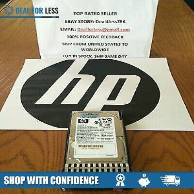 "HP 431958-B21 432320-001 HP 146gb 2.5/"" 10k single port sas hard drive"
