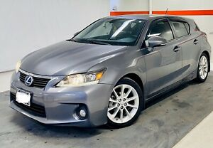 Well Maintained 2012 Lexus CT200h Hybrid