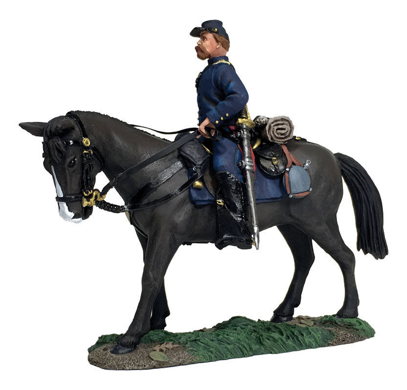 W. Britain - American Civil War Federal Infantry Officer Mounted 31276 Union ACW