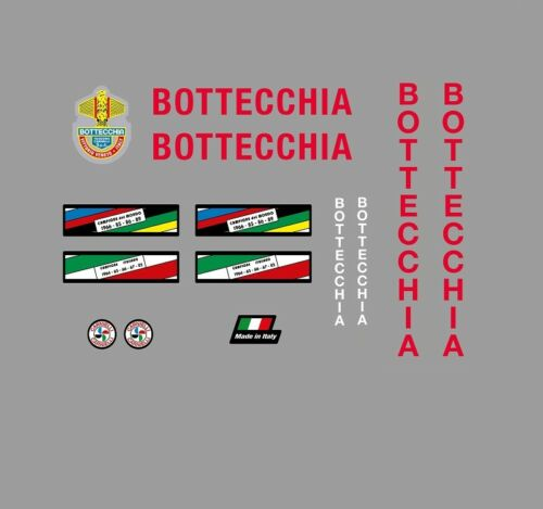 Stickers n.100 Bottecchia Bicycle Decals