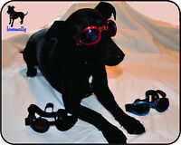 Dog Goggles Red Sunglasses 100% Uv Eye Protection Authentic Usa Seller Glasses