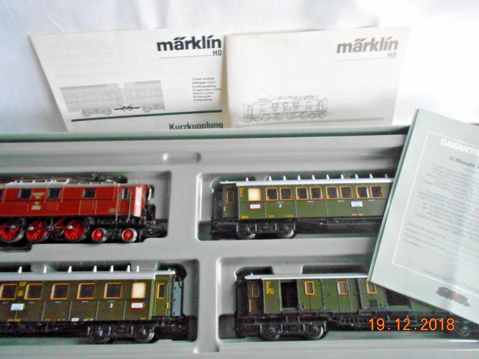 2660 ho/pers. - treno/E. - Lok + 3 x WG./DRG/DIGITALE