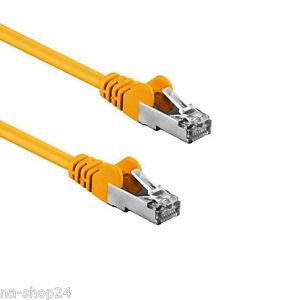 0-60-con-5m-RJ45-CAVO-PATCH-GIALLO-Cavo-di-rete-Ethernet-U-UTP-gatto-5E