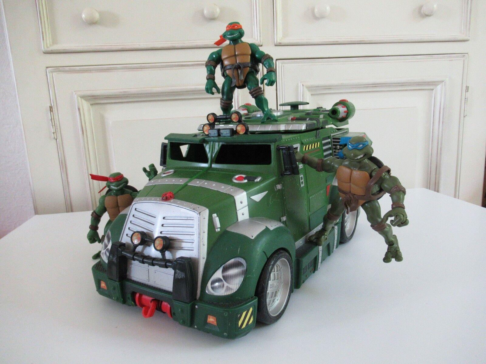 Jouet Camion Tortue Ninja Vendu Avec 3 Figurines