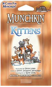 Munchkin-Kittens-Expansion-Adds-30-Cards-Game-Steve-Jackson-Booster-SJG4215-Card