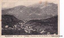 # MAGREGLIO: PANORAMA CON VISTA DEL GHISALLO E LE GRIGNE  1942