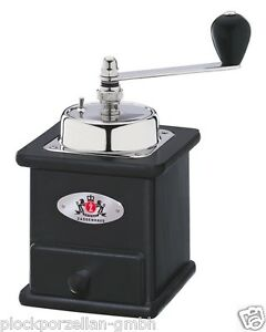 ZASSENHAUS-manuelle-Kaffeemuehle-BRASILIA-schwarz-040166-Handmuehle-NEU-OVP