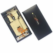 100% Genuine Nokia Lumia 800 rear fascia housing chassis battery cover+buttons