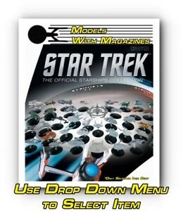 Eaglemoss-Star-Trek-The-Official-Star-Ship-Collection-Models-With-Magazines-New