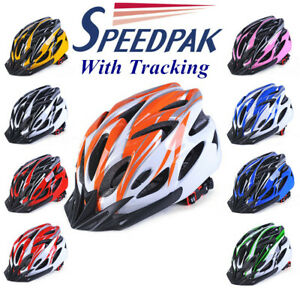 UK Stock Men Adult MTB Cycling Adjustable Helmet BicycleBike Safety Protection