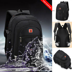 6e7046958cc5 Details about UK Men Boys Women Laptop Backpack School Notebook Rucksack  Handbag Business Case