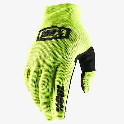 100/% Celium 2 Mens Off-Road Motorcycle Gloves Neon Pink//Black//Medium