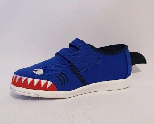 Emu Australia Requin Sneaker Bleu Escarpins Baskets Enfants Garçons