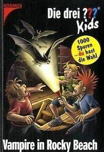 Die-drei-Kids-und-du-Vampire-in-Rocky-Beach-Buch-Zustand-gut