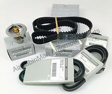 Timing Belt & Drive Belt Set with Thermostat for Xterra and Frontier 1999-2004