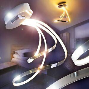 deckenleuchten design led k chen strahler wohn zimmer lampen chrom flur leuchten ebay. Black Bedroom Furniture Sets. Home Design Ideas