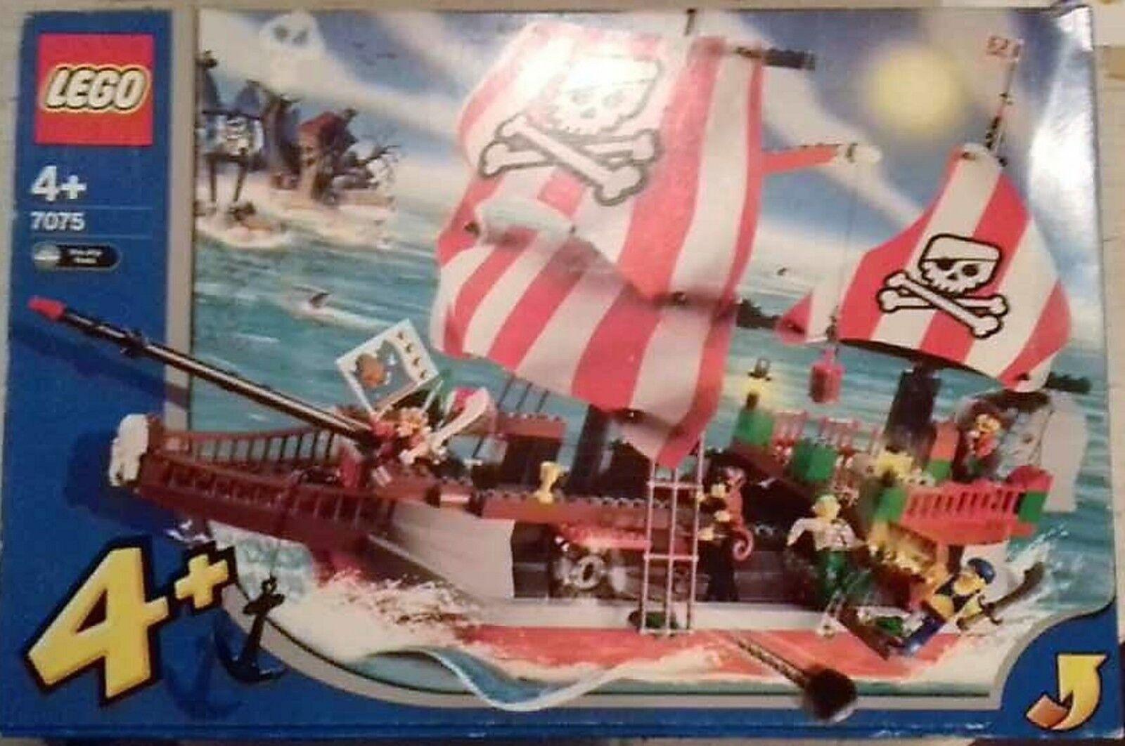 LEGO 7075-capitano rossobeard's Pirate Ship NUOVO