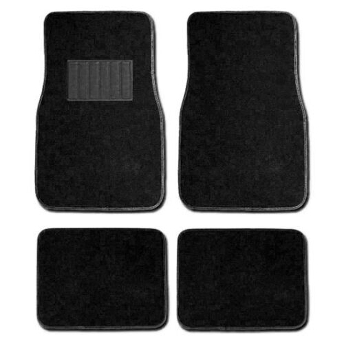 For Jeep New Car Seat Covers Floor Mats Set Black and Pink Flat Cloth
