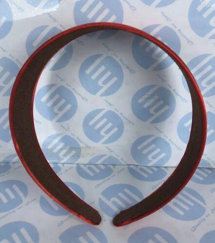 WIDE 4.5cm SATIN FABRIC ALICE BAND HAIR HEAD HEADBAND BRIGHT RED COLOUR New