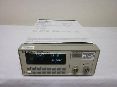 Agilent / HP 8156A Optical Attenuator Mainframe with Option 350 (Multimode)