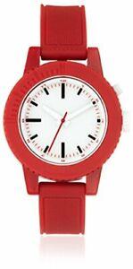 Nixon-Women-039-s-A287-200-Gogo-Red-White-Polycarbonate-Watch