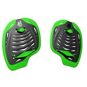 Paddles-Fusion-Swimming-Mad-Wave-Hand-Training-Swim-Technique-Color-Black-Green