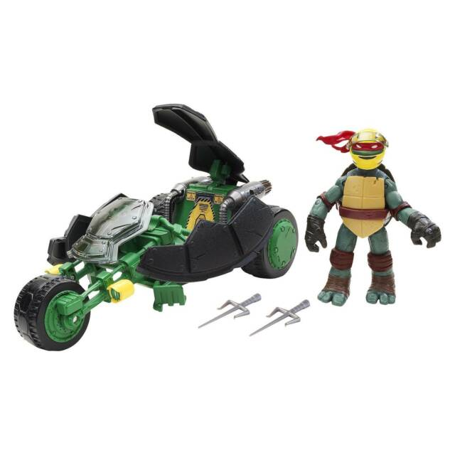 Teenage Mutant Ninja Turtles Stealth Bike Raphael Action Figure