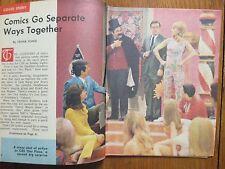 Au-1967 Washington Evening Star TV Mag(JACK BURNS/AVERY SCHREIBER/CAROL LAWRENCE