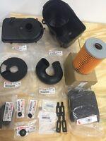 Yamaha Golf Cart Air Box Bottom,top,hose,filter & More G2g9 Air Cleaner Housing