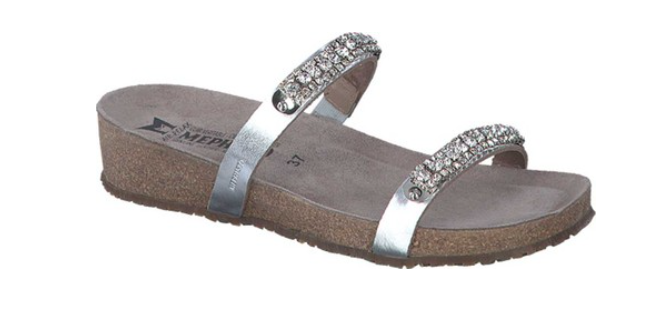 Mephisto Ivana Nickel Star Comfort Sandal Womens Sizes 35-42 NEW