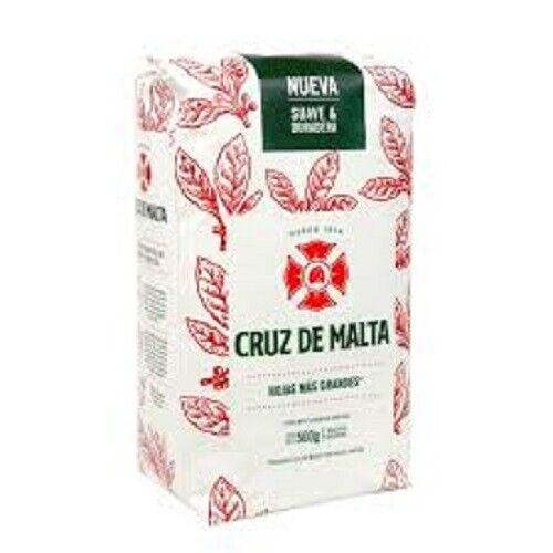 Cruz De Malta Yerba Mate - Hojas Mas Grande - 2 x 500g (1kg in total) - Aust.