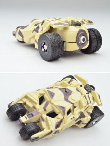 KIitan Batman DC  Batmobile Pullback Toy Car THE DARK KNIGHT TUMBLER Camouflage