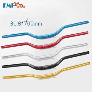 Aluminium-MTB-Mountain-Bike-Handlebar-Bicycle-Riser-Bar-31-8-700mm-Rise-up-40mm
