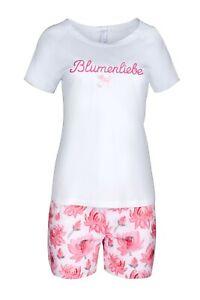 LOUIS-amp-LOUISA-034-Blumenliebe-034-Short-Set-Blumen-pink-Gr-XS-L-NEU