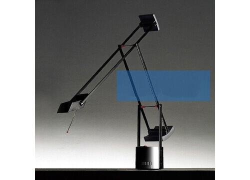 LT- Modern Simplicity Black Metal Creative LED Bedside Light Table Lamp