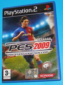 Pes 2009 Ps2 Custodia E Istruzioni Pro Evolution Soccer Video Games & Consoles
