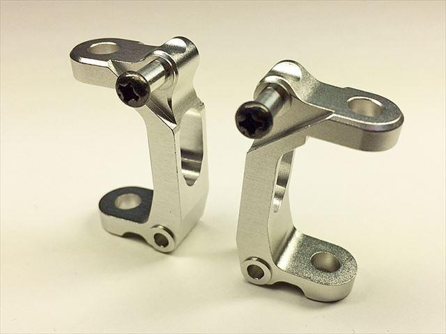 Square sgw-36s in Alluminio Hub C (argentoo) per TAMIYA gf-01