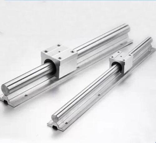 2pcs SBR10UU Block 2X SBR10-200mm 10MM FULLY SUPPORTED LINEAR RAIL SHAFT ROD