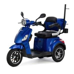 ELECTRIC MOBILITY SCOOTER 3 Wheeled VELECO DRACO 4 colours