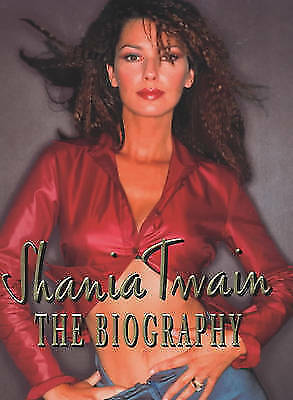 Shania Twain by Eggar, Robin, Good Book (Hardcover) FREE & Fast Delivery!